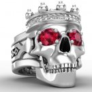 Men's Skull King Ring Large Format