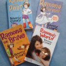 Set of 4 Ramona Books + 1 more by Beverly Cleary Paperback LOT 5