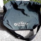 Old Navy Messenger Bag Pine Green Satchel Shoulder Bag Crossbody Nylon Large