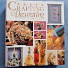Crafting and Decorating Made Simple (1996, Hardcover) Unused Vintage DIY HTF