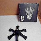 Vintage Star Lite Cluster 15-C w/box Skinny Taper Candle Holder Viking Craft