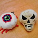 "NWT TERRARIA EYE OF CTHULHU & SKELETRON 7"" PLUSH Lot 2 Collectibles"