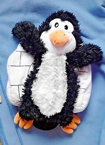 HAPPY NAPPERS ~ PLUSH PENGUIN AND IGLOO ~ REVERSIBLE PLAY PILLOW