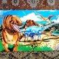 MELISSA & DOUG 4 foot long 48 piece Dinosaur Floor Puzzle Washable EUC Preschool