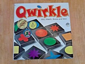 Mindware Qwirkle Game COMPLETE 108 Pieces Original Bag Manual and Box, Clean
