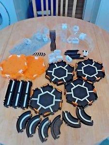 Hex Bug Nano Habitat Elevation Set Glow in the Dark LOT Black Orange Clear White