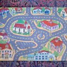 "Roadway City Fun Floor Puzzle Play Mat 30 pcs for cars and trucks 27"" x 40"""
