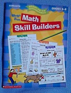 Mega Fun Math Skill Builders Reproducible Pages Education Tutor Homeschool Teach