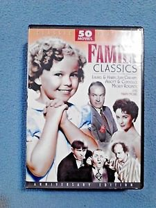 Family Classics 50 Movie Pack DVD 2010 12-Disc Set Anniversary Edition NEW