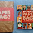 What Can You Do with a Paper Bag LOT Crafts DIY History Education Homeschool
