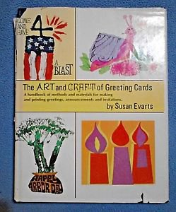The Art and Craft of Greeting Cards Susan Everts Vintage Book DIY 1975 OOP