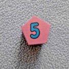 Melissa and Doug Shape Sorting Clock Replacement Piece Number 5 Pentagon