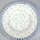 Williams Sonoma Tournesol rimmed soup pasta bowl Italy Blue Yellow white green