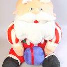 CVS Stuffins Rudolph Reindeer Santa stuffed animal puffalump toy 1993 doll