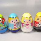 Weebles toy egg shape figure choose 1 soccer player boy girl skateboarder