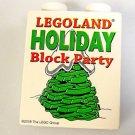 LEGO brick White Holiday Block party Christmas tree Legoland California 2007