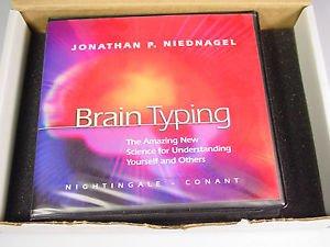 Brain Typing  CDs by Jonathan Niednagel 8/Bonus CD/DVD/CDROM 11 Total