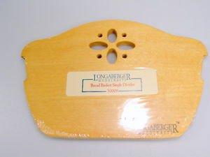 Longaberger Woodcrafts Cracker Basket Single Divider Wood Divider Classic #50016