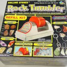 Rock Tumbler Refill Kit rough amethyst jasper tumbling media jewelry findings
