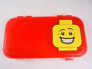 LEGO Minifigure Storage case red plastic