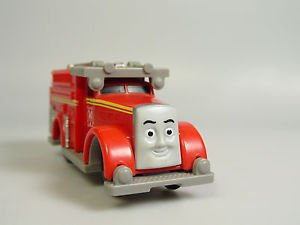 Thomas Train TOMY TRACKMASTER Motorized FLYNN the red toy fire engine