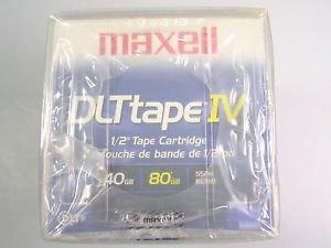Maxell DLT Tape IV 40/80GB Cartridge 183270 5 Pack