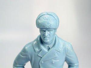 "Louis Marx plastic toy  Blue Russian soldie rifle1960s plasti Marx 5"""