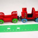 Brio train Engine Wood plastic Pirates Car magnetic take n play