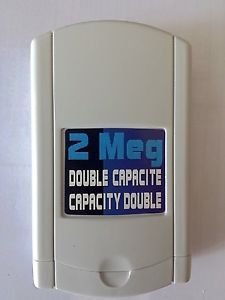 Sega Dreamcast memory card | Double Capacity | Barely used. *2MB*