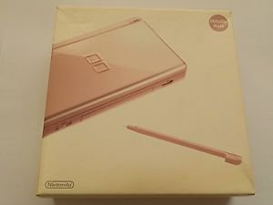 Nintendo DS Lite Handheld System Metalic Rose *Used*