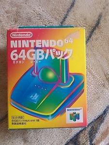 Nintendo 64 GameBoy GB64 Transfer PAK (NUS-019) In Box *Japan*