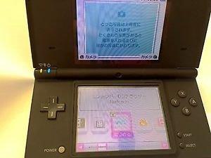 Nintendo DSi Black Handheld System Console NTSC-J *Used* *Japan*