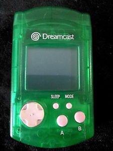 Sega Dreamcast VMU Visual Memory Unit | Lime Green