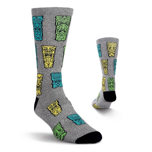 Men's Tiki Athletic Crew Socks by Kurb One Pair Size 10-13