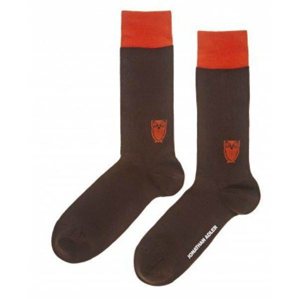 Jonathan Adler Men's Owl Socks Size 10-13