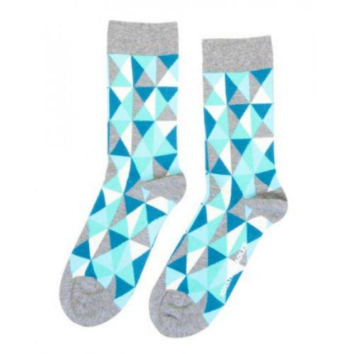 Jonathan Adler Harlequin II Crew Socks for Women Size 9-11
