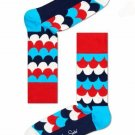 Scales Crew Socks for Women by Happy Socks Size 9-11