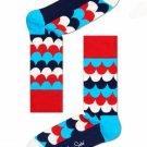 Scales Crew Socks for Women by Happy Socks Size 9-11