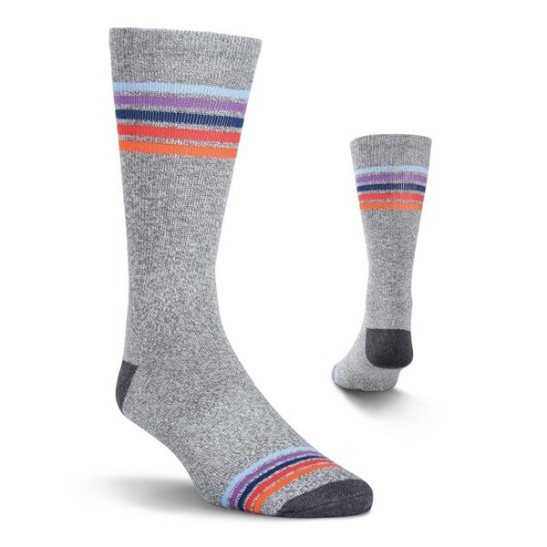 Men's Sport Stripe Crew Athletic Socks by Kurb One Pair Size 10-13