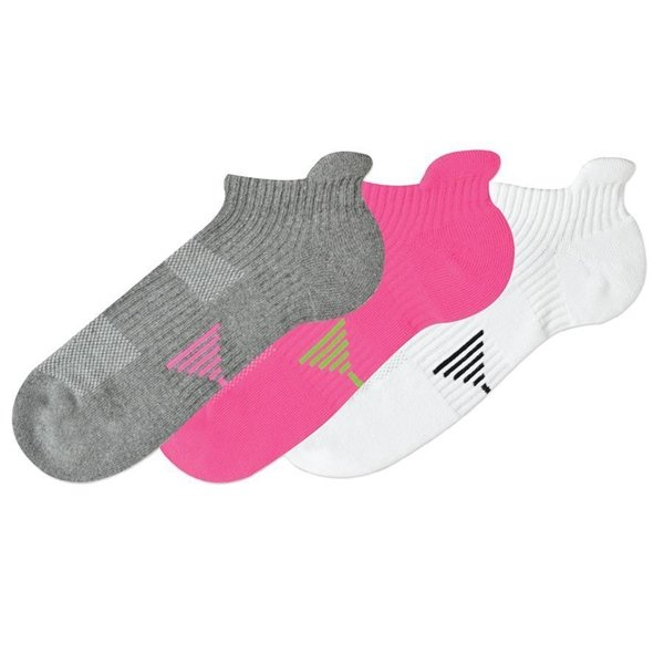 Women's No Show Socks Tech Support Design by K. Bell Size 9-11 One Pair