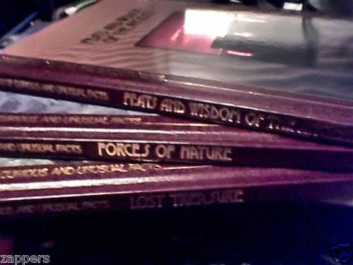 3 BOOKS~LOST TREASURES~WISDOM OF ANCIENTS~FORCES NATURE