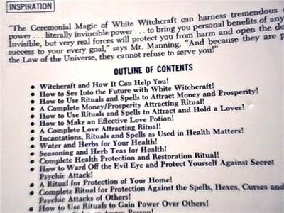HELPING YOURSELF WITH WHITE WITCHCRAFT~ATTRACT TO YOU