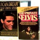 2 BOOKS~ELVIS~IF I CAN DREAM~SECRET DIARY~PRIVATE ELVIS