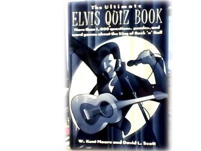 ULTIMATE ELVIS QUIZ BOOK~1000 QUESTIONS + ABOUT ELVIS