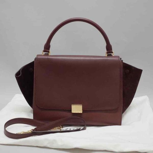 Celine leather � suede 2Way bag