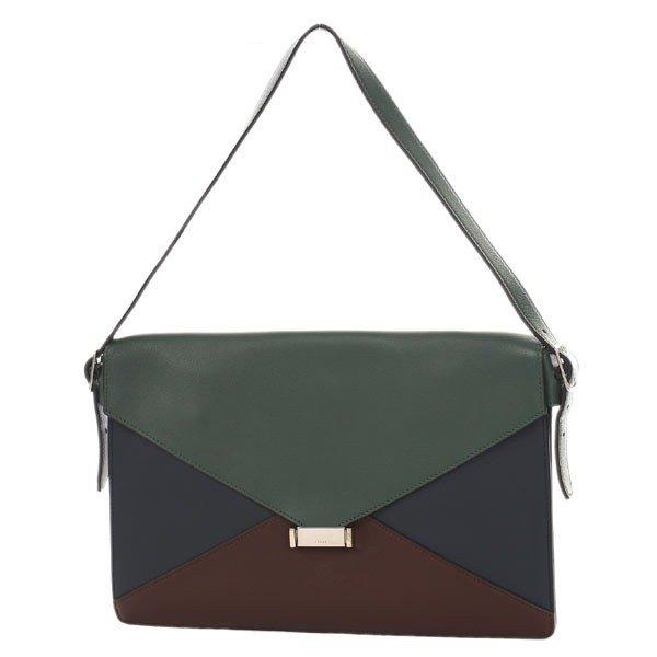 Celine Diamond Shoulder Bag Clutch