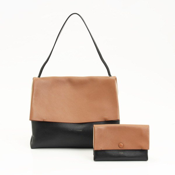 Celine All Soft Shoulder Bag Brown