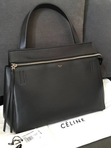 Celine Edge Shoulder Bag Black