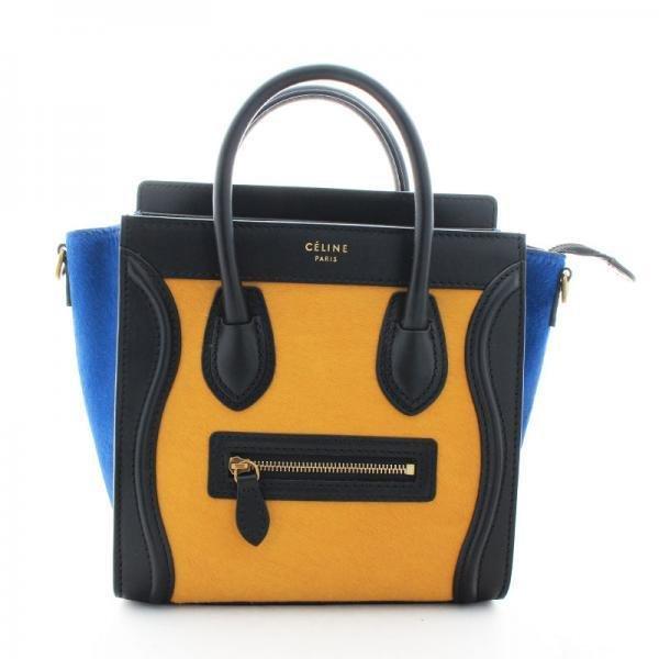 Celine Luggage Nano Shopper Handbag