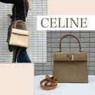 Celine Vintage Kelly Type 2Way Shoulder Bag